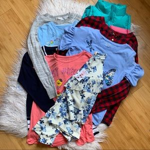 Lot of 8 Girls 12/14 Clothing Tops/Sweaters